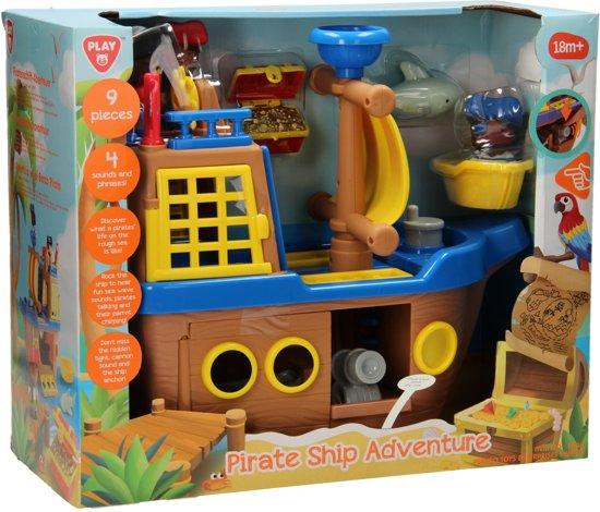 Playgo Piratenschip met Accessoires Speelgoed €20,99 @ bol.com