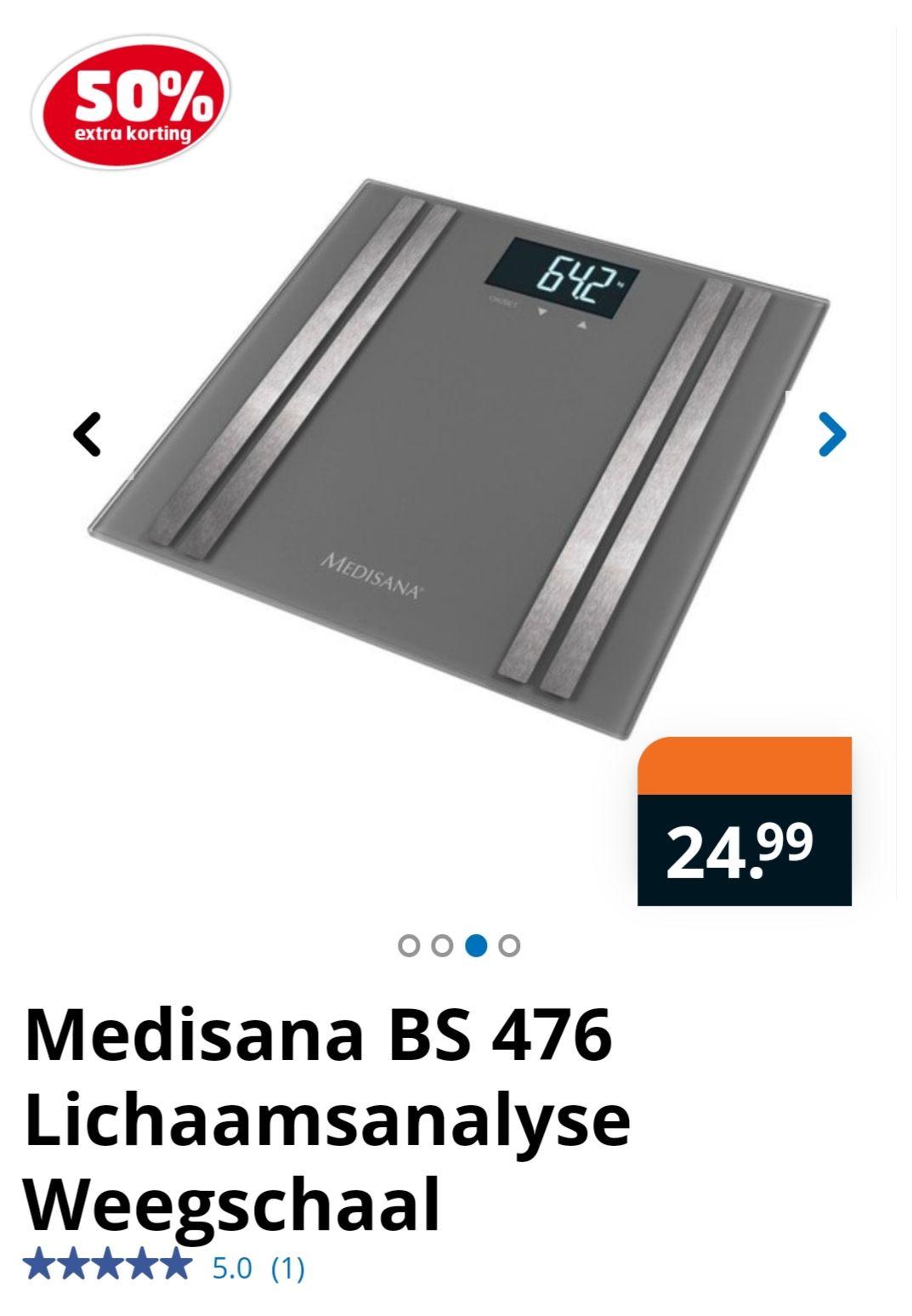 Medisana BS 476 @trekpleister