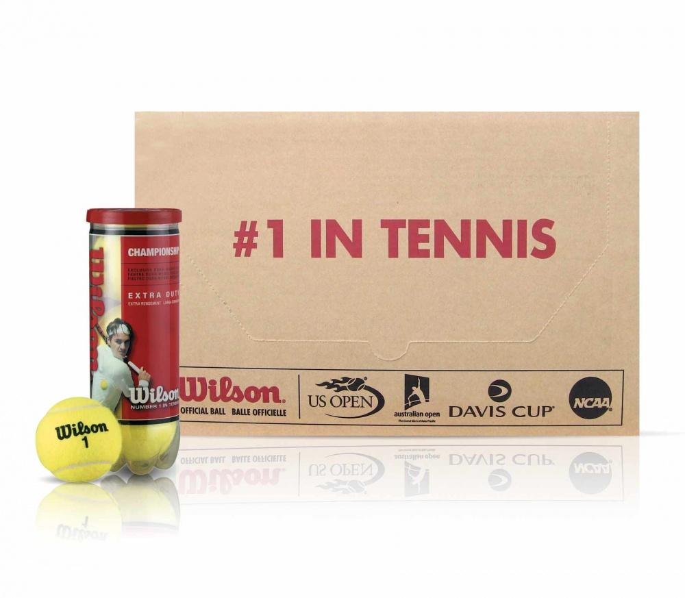 Wilson - Championship Extra Duty tennisballen (144 Stuks) voor €85,28 @ Keller-Sports