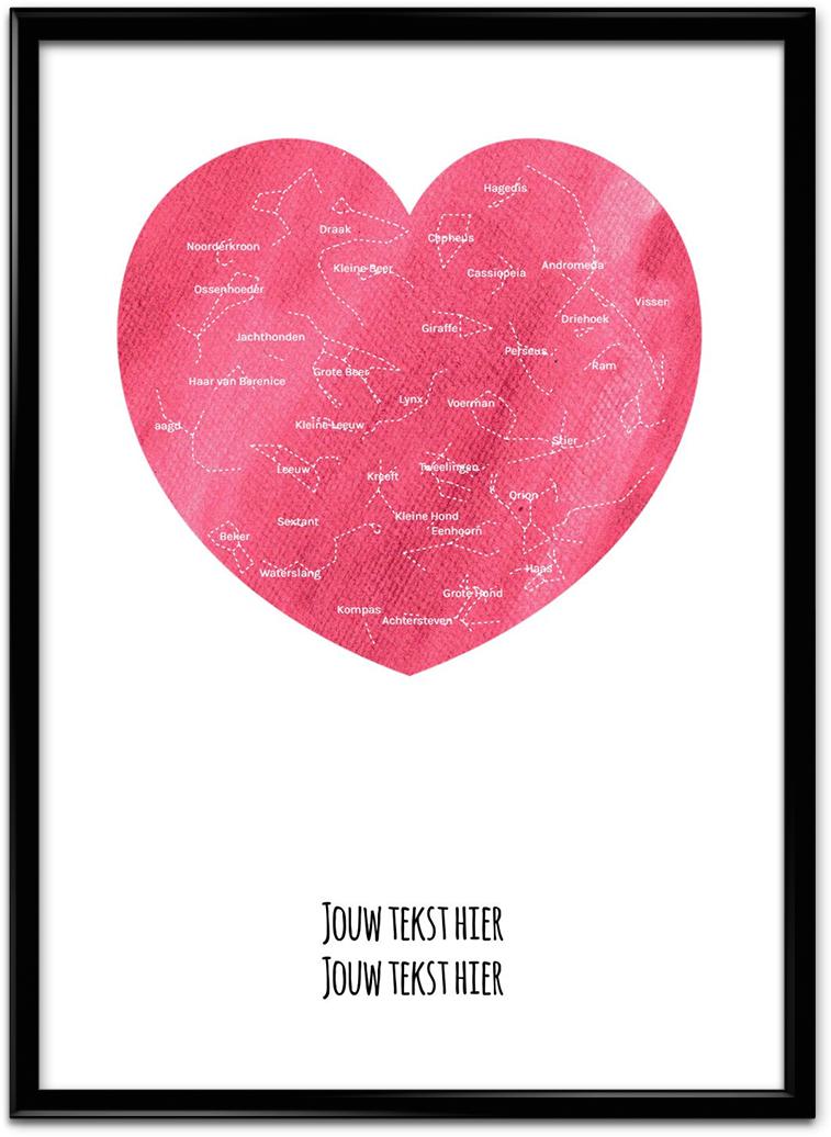 Valentijns cadeau poster
