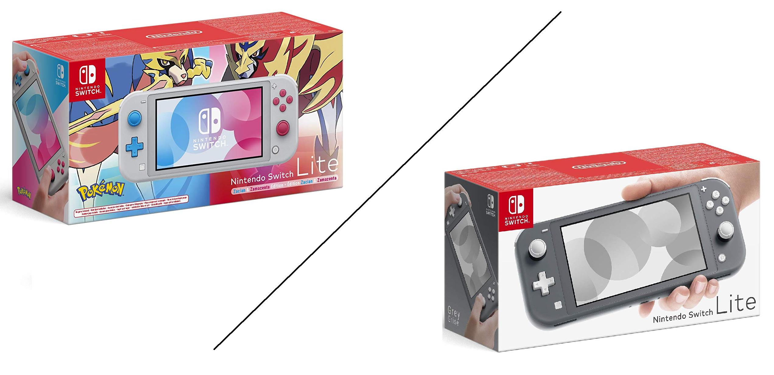Nintendo Switch Lite grijze editie voor €189 @ amazon.de