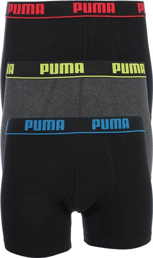 Puma boxershorts 3 pack maat M en XL €9,89 @bol.com