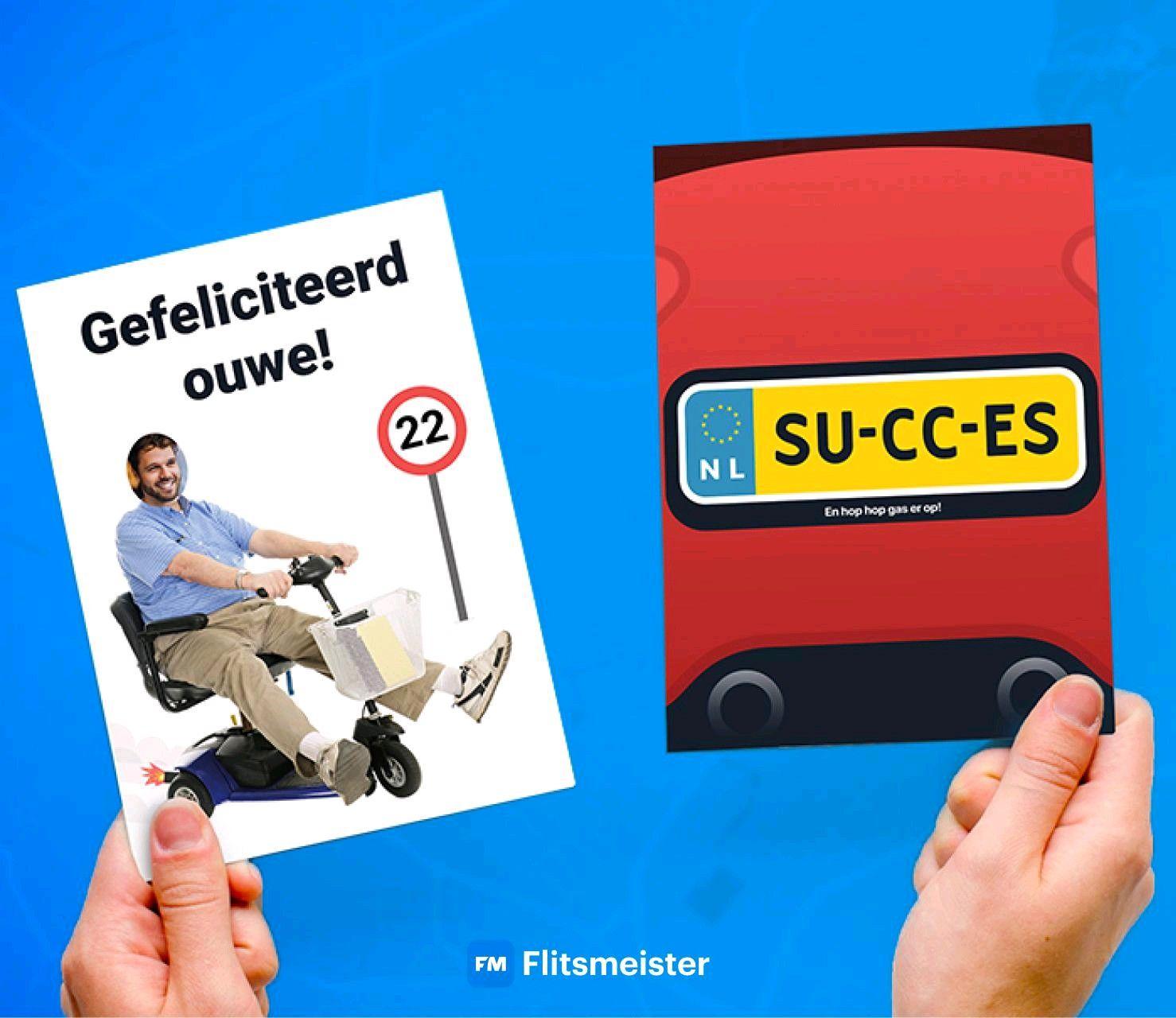 Stuur een gratis Flitsmeister kaart! Exclusief postzegel. @ Greetz.nl