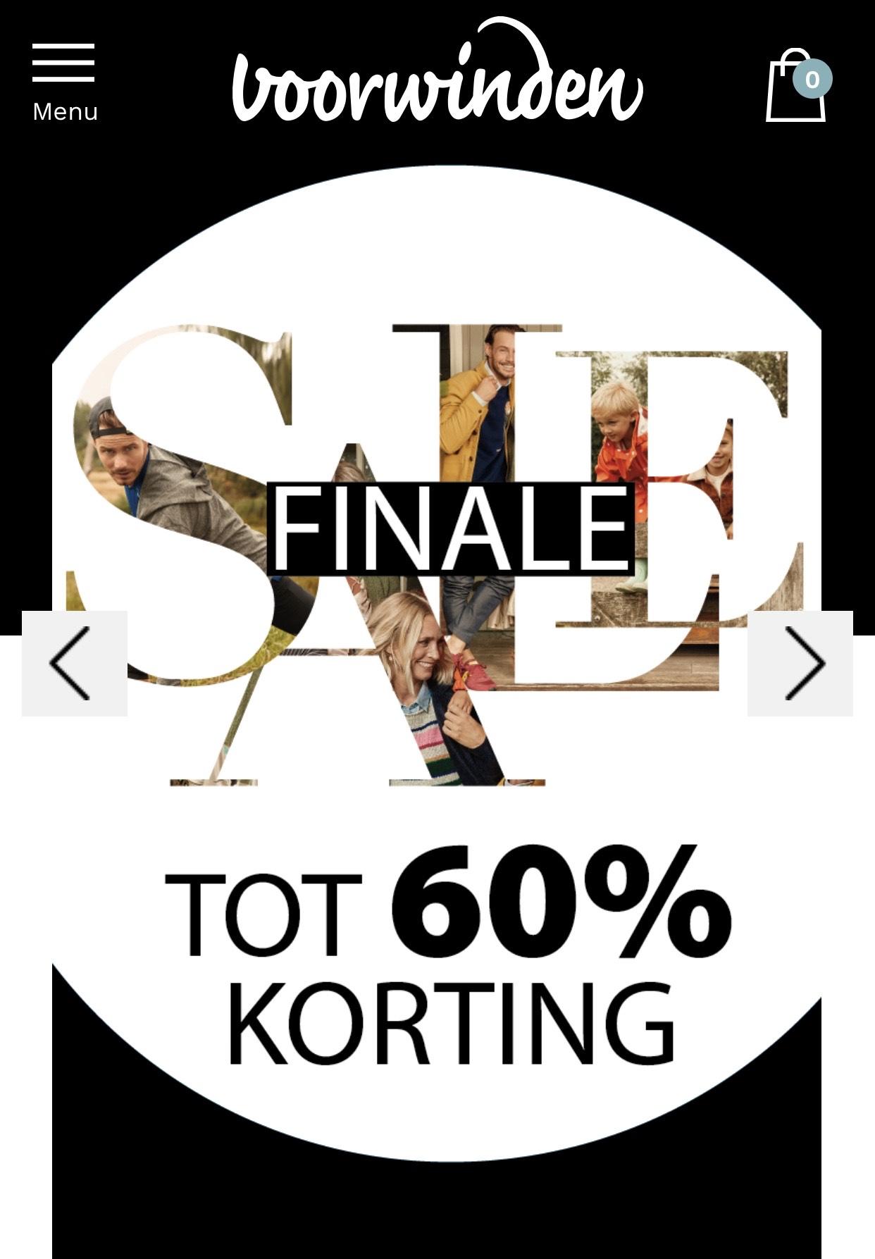 Finale sale Voorwinden