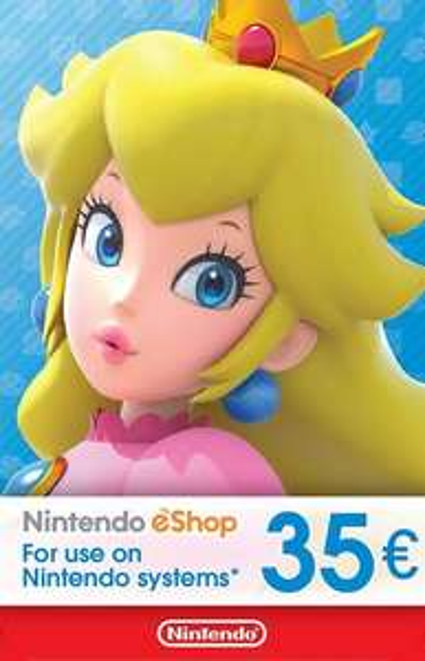 Nintendo eShop tegoed €35 (digitale key) bij Eneba