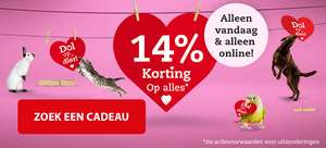 14% korting @ pets place & boerenbond (online)