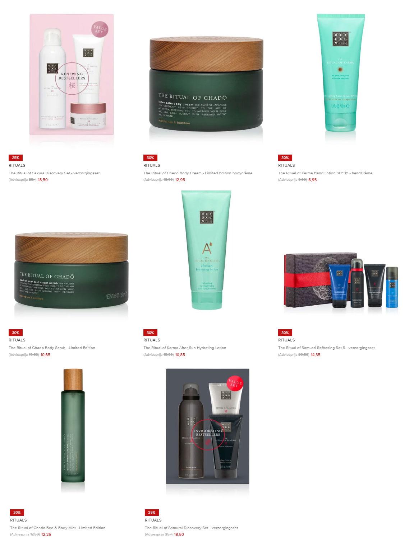Diverse RITUALS beauty 25-30% korting (8 producten/sets) @ De Bijenkorf