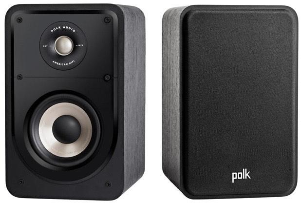 Polk S-15e boekenplank luidspreker (per paar)