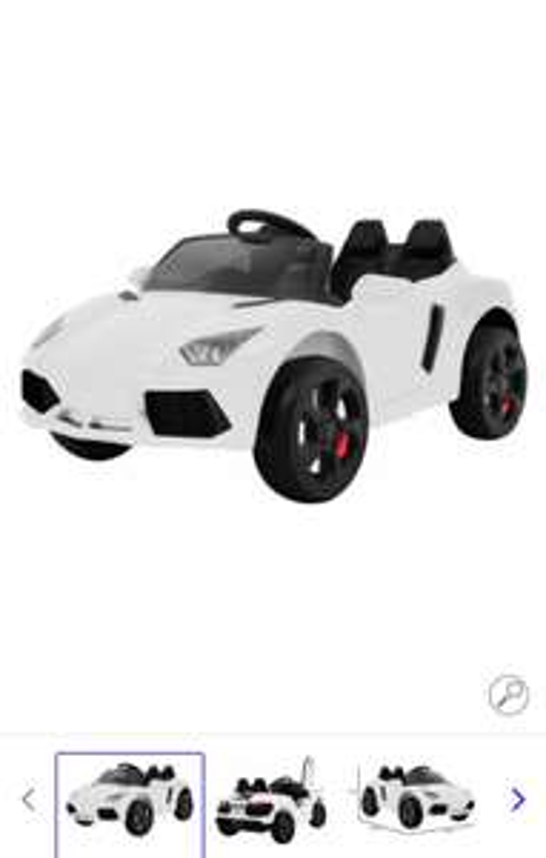 Elektrische Kinder Auto van Toys Ramiz @bol.com