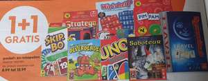 Pocket- en reisspellen 1+1 gratis (o.a Wie is het? Rummikub & Stratego) @ Blokker