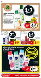 grensdeal kruidvat Belgie 100 procent terugbetaling :nivea micellaire shampoo of conditioner