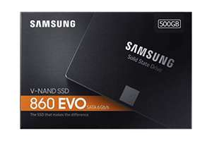 Samsung 860 Evo 500GB SSD @ Amazon.de
