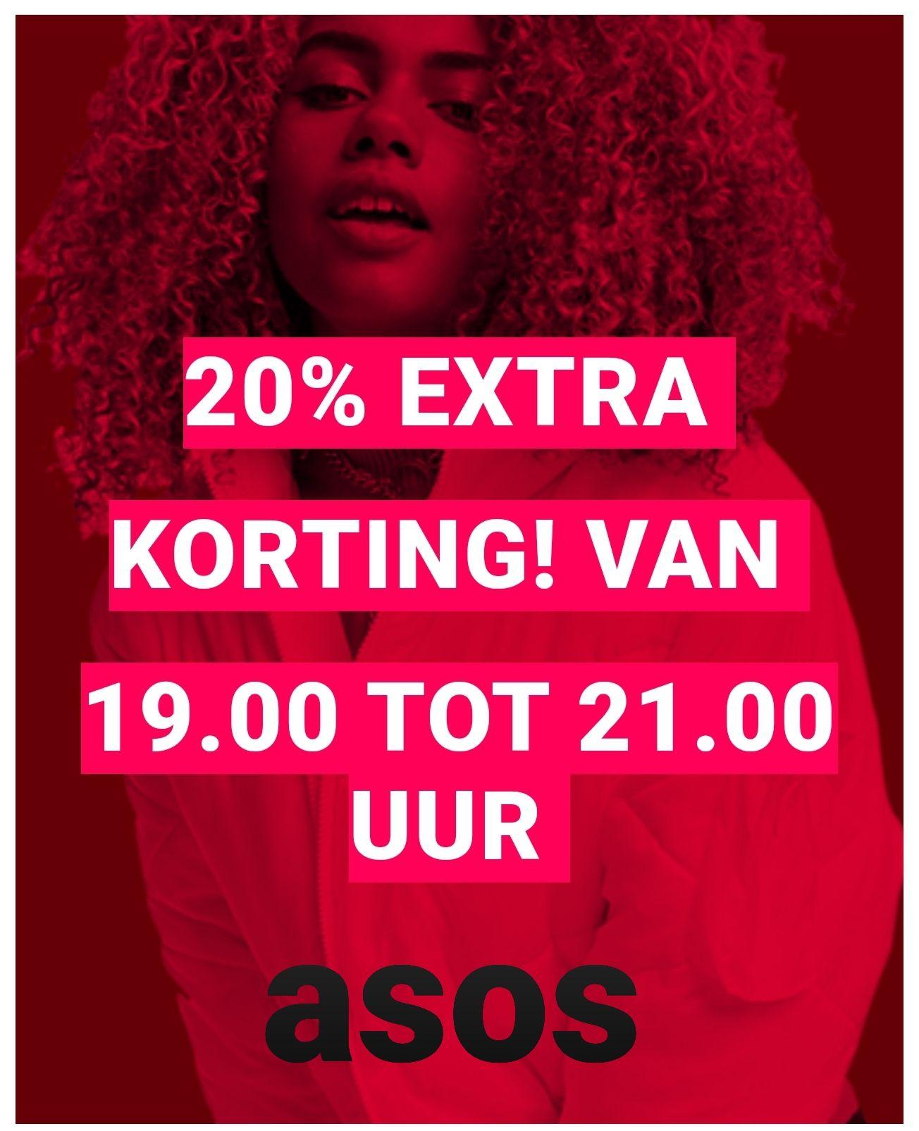 20% extra korting op de SALE @ASOS