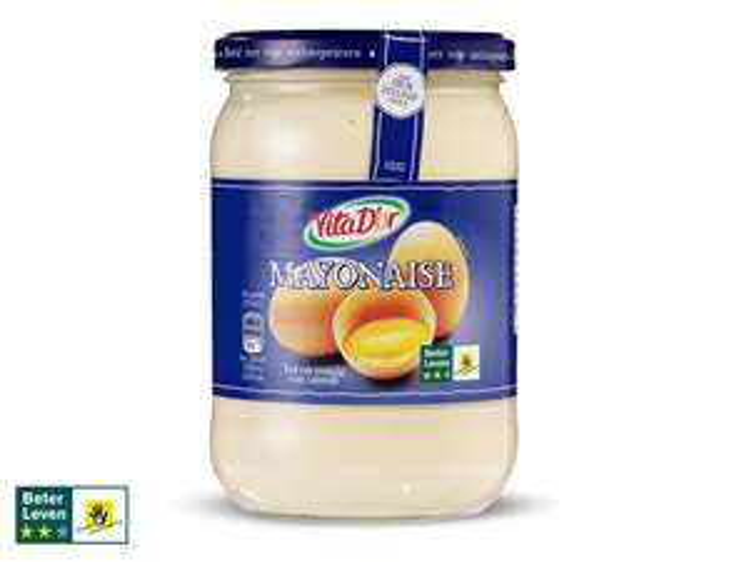 Pot mayonaise van 600 ml voor €0,54 bij Lidl in de app (50% korting)