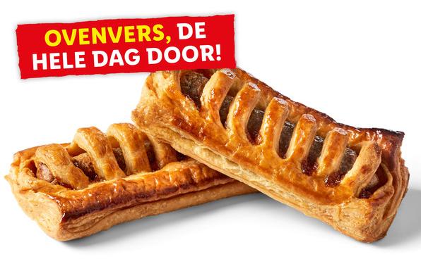 2x Frikandelbroodjes voor 1 eur (ofwel 0,50 eur/broodje). -38%.