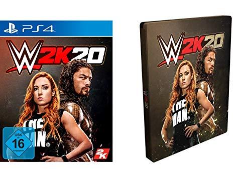 WWE 2K20 Standard Edition met Steelbook (PS4/XB1) @ Amazon.de