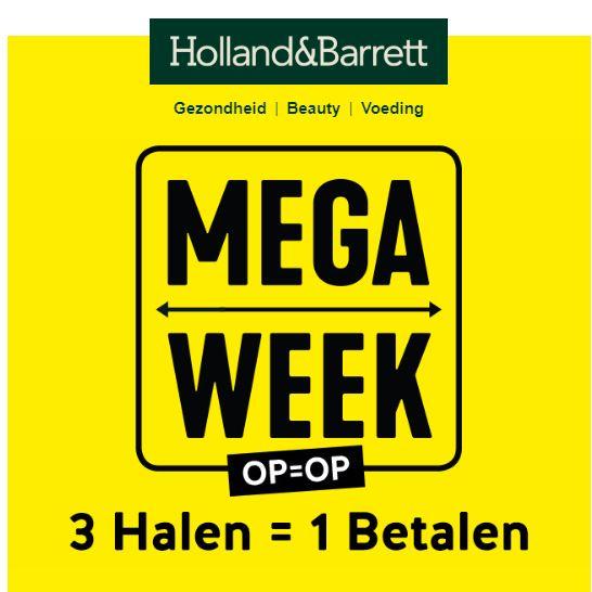 3 Halen = 1 Betalen @ Holland & Barrett