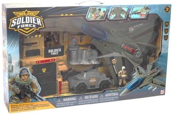 [Update: meer goedkope sets!] Soldier Force Bunker Luchtaanval Speelset voor €7,79 @ bol.com