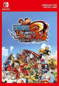One Piece: Unlimited World Red Deluxe Edition (Nintendo Switch Code) @ Eneba