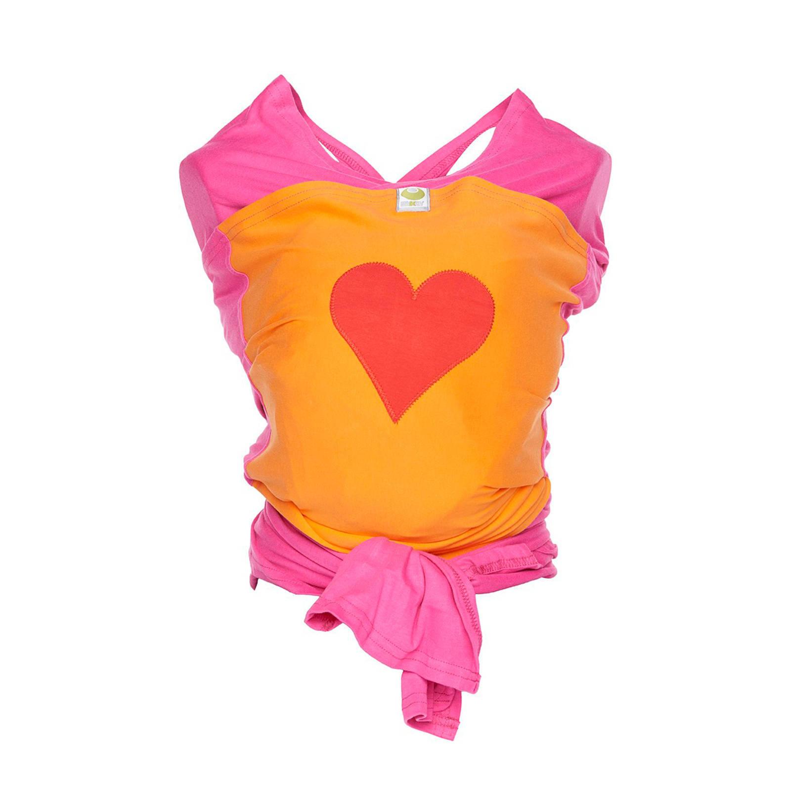 Gratis ByKay draagdoek + mutsje met hartjes bij aankoop van een ByKay draagdoek