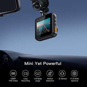 Apeman C420 Mini-dashcam 1080p FHD 170 graden