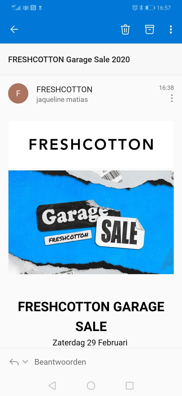 Garagesale Freshcotton