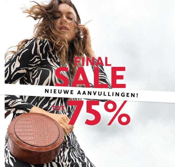 Sale tot -75% - ook jassen @ Anna van Toor