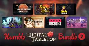 Humble Bundle - Digital Tabletop 2 bundle met o.a. Reigns en Armello