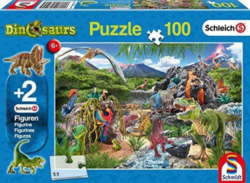 [Amazon.de] Schmidt 100 stukjes puzzel met 2 Schleich dieren 5,99