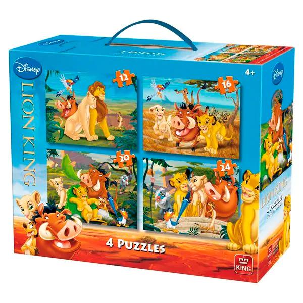Disney Lion King 4 puzzels in 1 (12, 16, 20, 24 stukjes) voor €4,99 @ Kruidvat
