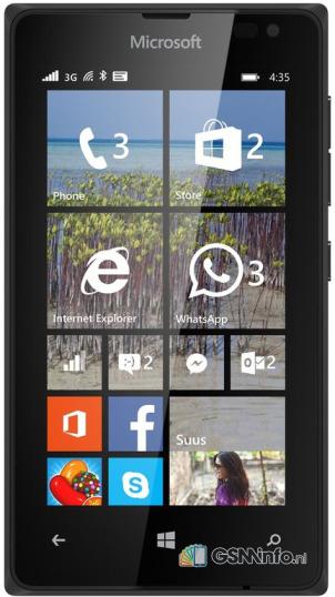 Microsoft Lumia 435 voor €31,95 met 1-jarig Telfort abonnement @ UnitedConsumers