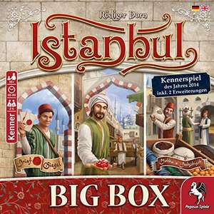 [Lightning Deal] Bordspel Istanbul Big Box DU/EN voor €31,87 @ amazon.de