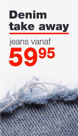Denim Take Away - jeans vanaf € 59,95 bij OPEN32