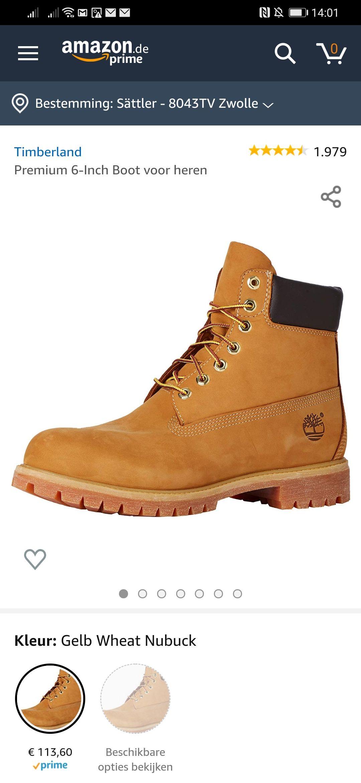 "Timberland 6"" premium boots (Part2)"