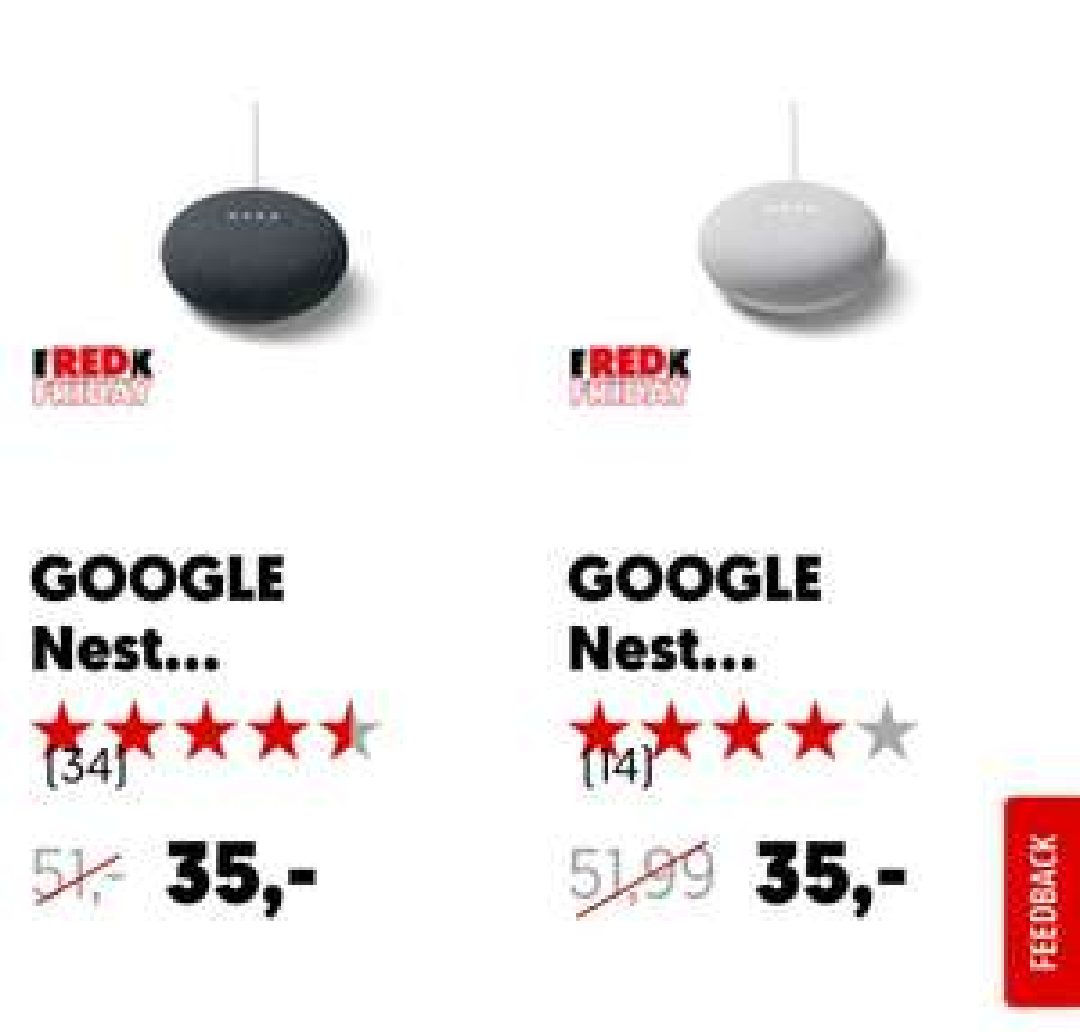 Google Nest mini @ Mediamarkt