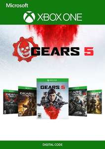 [Xbox One] Gears 5 Bundle (Gears of War Ultimate + 2, 3, 4 & Gears 5) voor €18,29 @ cdkeys