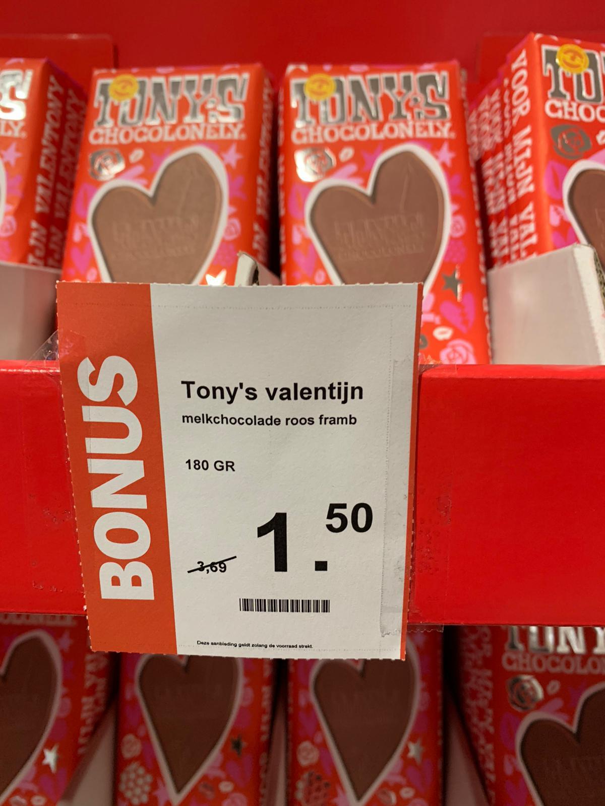 [Lokaal?] Tony's Chocolonely Valentijnsreep @AH