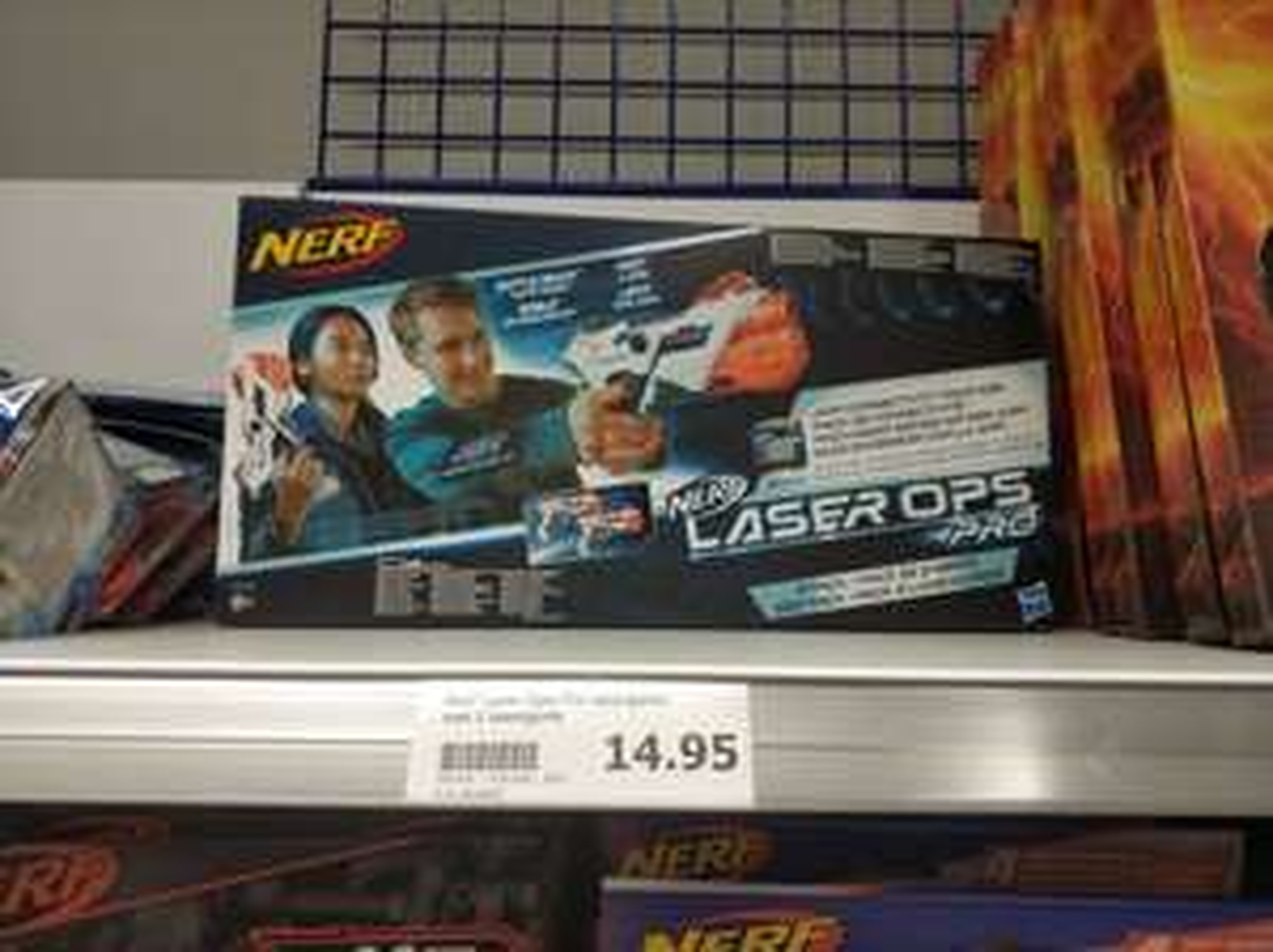 NERF Laser Ops Pro 2 pack @Action