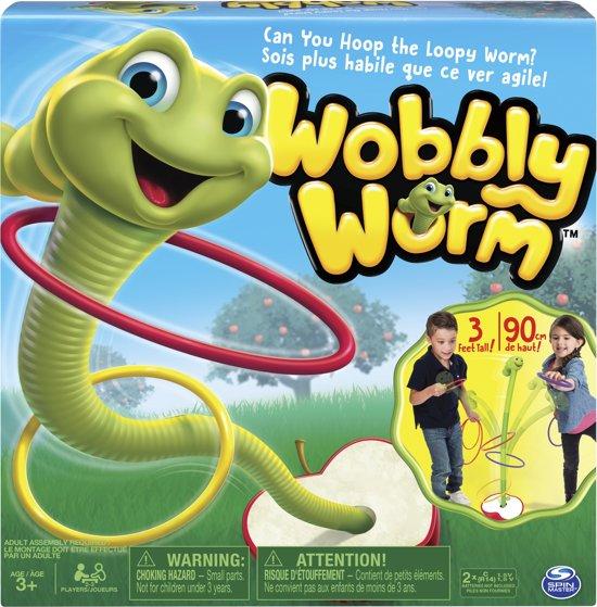 Wobbly Worm Kinderspel Actiespel voor €6,09 @ bol.com