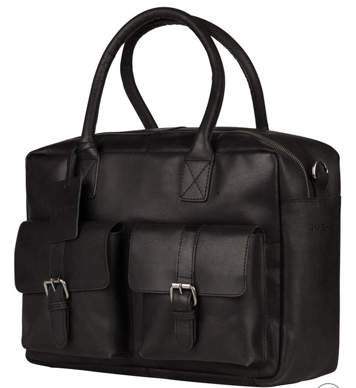 BURKELY Vintage Leder Akte / Laptoptas @ Bol.com