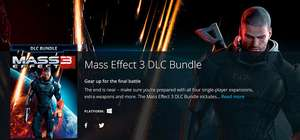 Mass Effect 3 DLC bundle @ Origin
