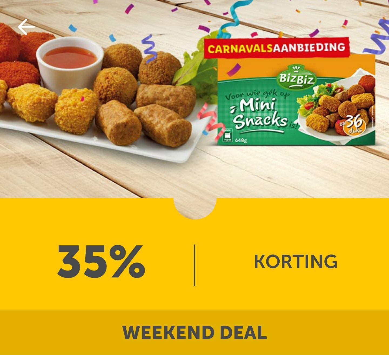 Mini Snacks 35% korting bij Lidl