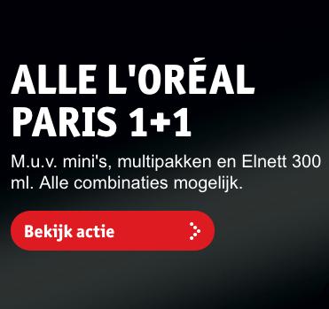 L'oreal Paris 1+1 gratis + kans op stedentrip naar New York