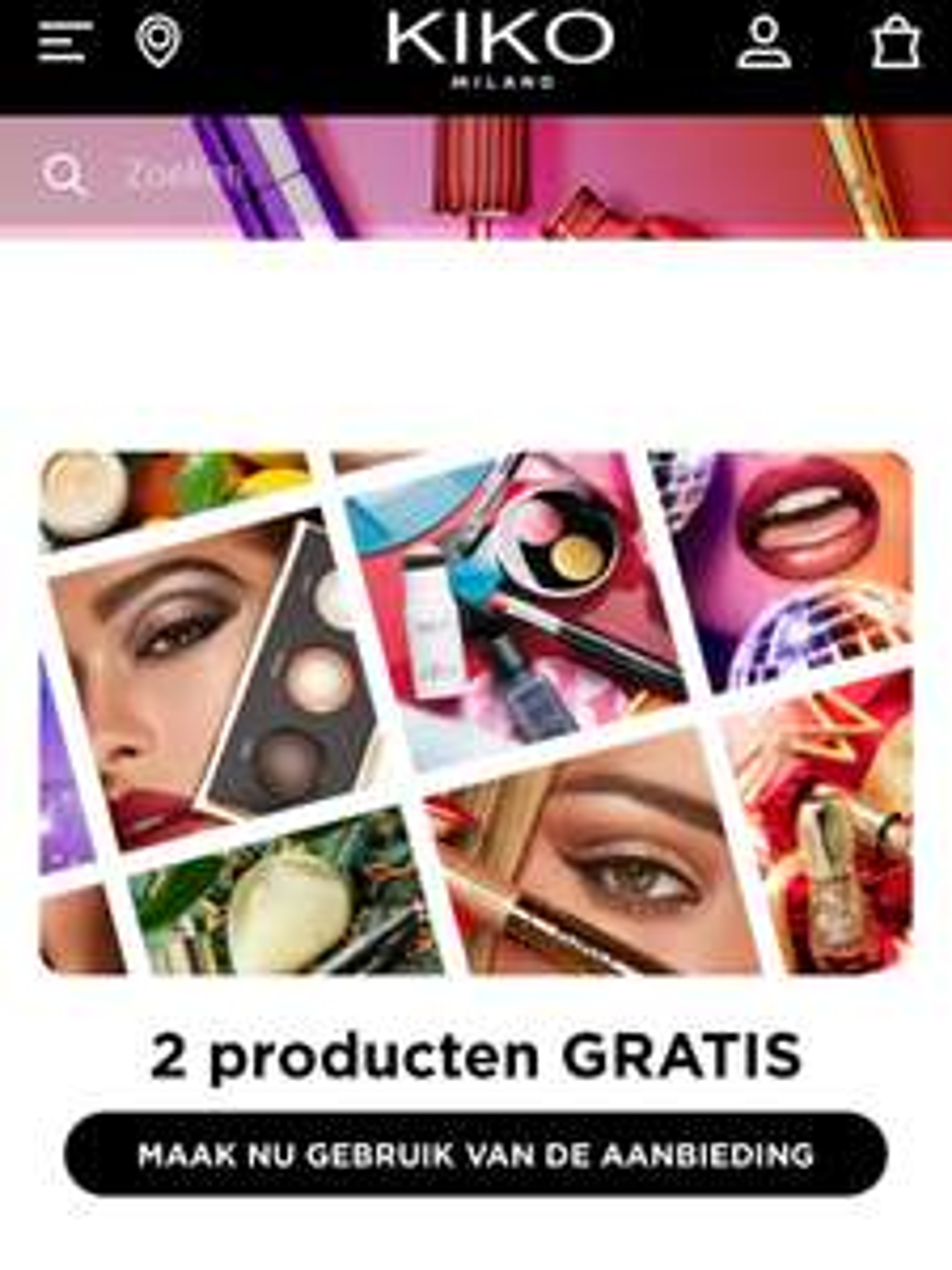 2+2 gratis KIKO makeup @KIKO Alexandrium