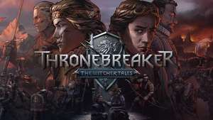 50% korting op Thronebreaker - The Witcher Tales. (Gwent singleplayer game).