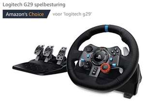 Logitech G29 stuur (optioneel met shifter) ps4/ps3/pc