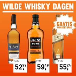 Gall & Gall wilde whisky dagen