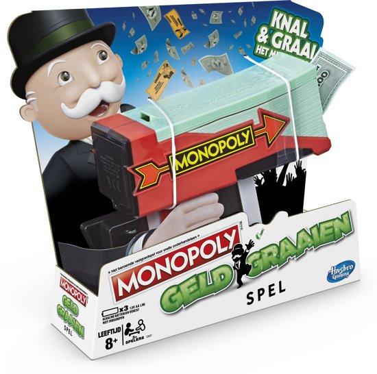 Hasbro Monopoly Geld Graaien