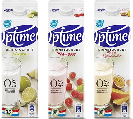 Probeer 1 liter Optimel voor €0,50