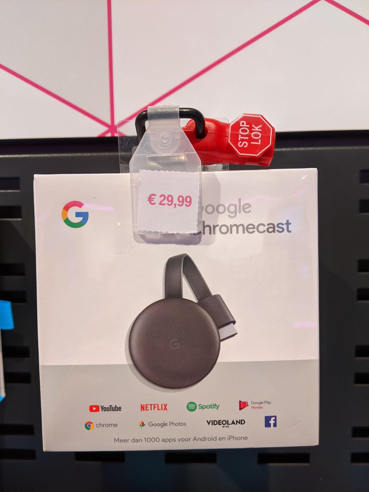 Chromecast bij T-Mobile Spijkenisse